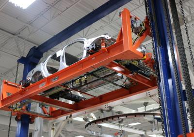 Skid High Lift Fork Transfer